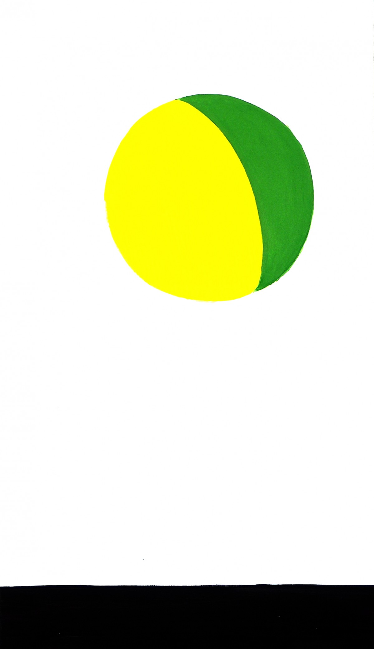 yellow-green-ball-with-ground
